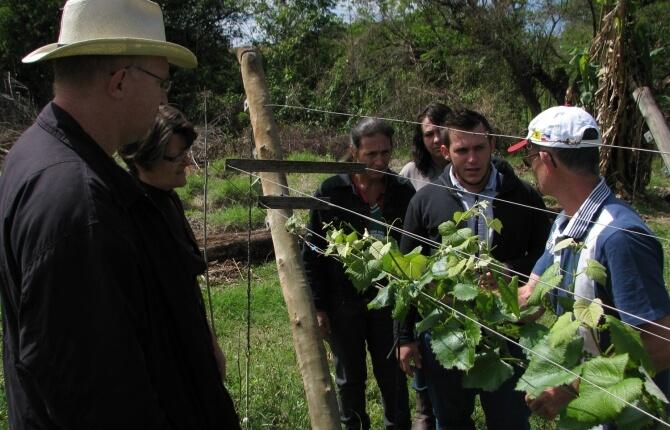 Integrantes do Projeto de Agroecologia do Sínodo da Amazônia visitam o CAPA