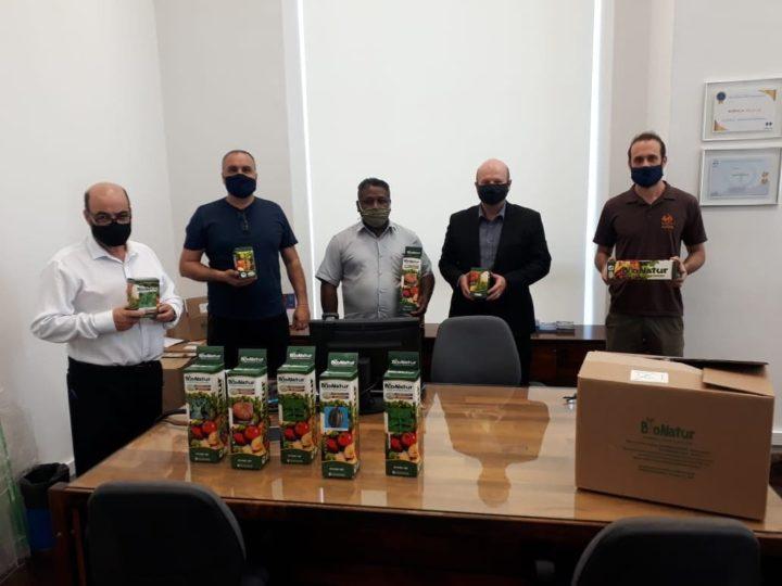 CAPA recebe mais kits de sementes que vão beneficiar famílias kilombolas