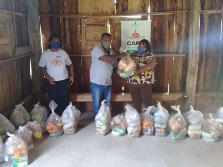 CAPA entrega 100 cestas de alimentos para famílias kilombolas em situação de vulnerabilidade social