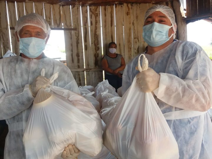 CAPA Santa Cruz realiza ajuda humanitária a comunidades indígenas